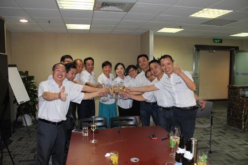 上海办事处成立